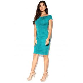 9c7a9b374 Vestido Guess By Marciano Elegante Verde 100% Original Nuevo