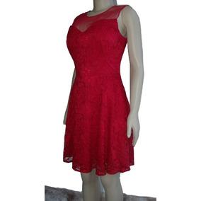 d7d90f8c4 Vestido Em Renda Sexy Elegante Curto Justo Com Forro - Vestidos ...