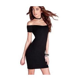4b0a00975 Vestido Corto Muy Sexy En Lycra Hombros Descubiertos 199