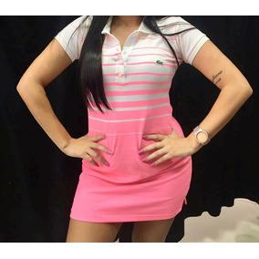 23ae74b0e0917 Vestido Polo Lacoste - Vestidos Casuais Femininas no Mercado Livre ...