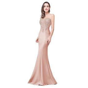mitad de descuento diseño exquisito tienda de descuento Vestido De Noche Nude Boda Fiesta Graduacion Babyonlinedres