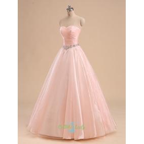 b8e1fa8bf Vestido De Quinceanera Tipo Princesa en Mercado Libre Perú