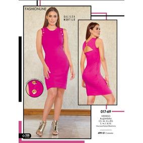 3b53f01086914 Vestido Rosa Cklass   Mundo Outlet
