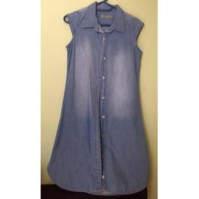 0cab87a2d5 Vestido Denim Piquenique Para Niña Talla 10-12