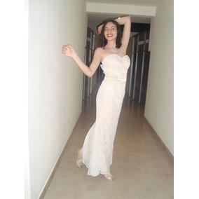 ddc0826c1d Vestido De Novia Color Champagne en Mercado Libre México