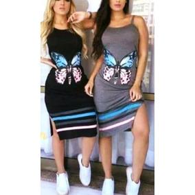 d536b259f Vestido Con Mariposas - Vestidos de Mujer 2 en Mercado Libre Argentina