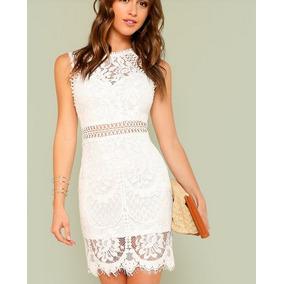 De Fiesta En Blanco Vestidos Mujer Cortos Liverpool gY7fyb6