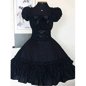 f2bef7c595 Vestido Princesa Gotica Lolita - Vestidos Femininas no Mercado Livre ...