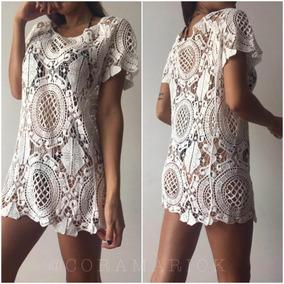 3f0c2943e6 Vestido Playa Crochet - Vestidos Cortos de Mujer en Mercado Libre ...