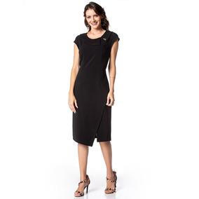 acbcd755446c2 Vestido Para Noite Chique Curto - Vestidos no Mercado Livre Brasil