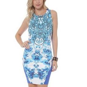 Aplicativo Pou Vestidos Casuais Femininas Azul No Mercado