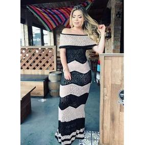 ae143571af Tricot Ciganinha - Vestidos De Festa Longos Femininas no Mercado ...