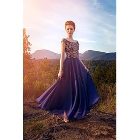 e4cab89490 Vestido Bordados Mexicanos - Vestidos De Festa Longos Femininas Azul ...
