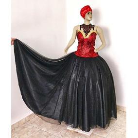 6e93da65c Fantasia Dama De Vermelho - Vestidos De 15 anos Femininas no Mercado ...