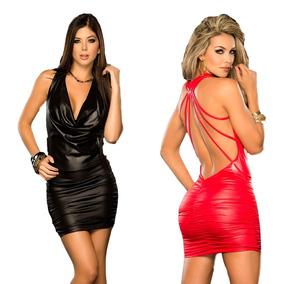 52607dbc9 Vestido De Latex Vinil - Vestidos Femininas no Mercado Livre Brasil