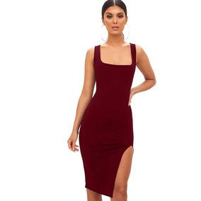 0bb623026 Vestido Cuadrado Rojo Y Blanco Vestidos - Vestidos de Mujer Azul ...