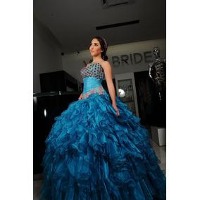 bb48c8fff Vestidos De 15 Años Azules - Ropa