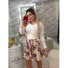 2df5a230b Vestido Farm Em Renda Rosa Tamanho G - Vestidos Casuais Curtos G ...