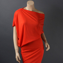 Vestido-blusa Hombro Caido Variedad De Colores