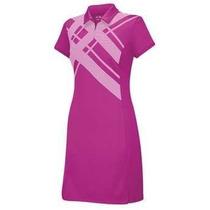 Vestido Estampado Climalite Argyle Adidas Mujer. Talla S/p