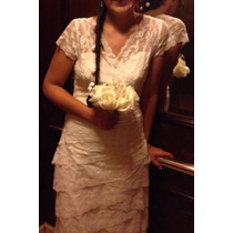 Vestido De Novia, Talla 40.