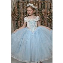 Vestido De Princesa + Tiara