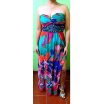 Vestido Elegante Estampado Primaveral