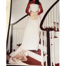 Vestido De Novia.made In Usa!!!con Zapatos De Regalo!!!