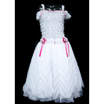 Vestidos De Primera Comunión Nuevo Para Niñas Talla Única 12
