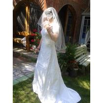 Vestido Novia Nuevo Casa Blanca Con Todo Incluido!!
