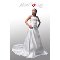 Vendo Vestido De Novia Tafetan Nuevo Talla 42 Temuco