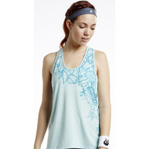 Blusa Deportiva Casual Solfire Floral Diamond Back Tank - Ag
