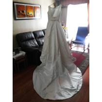 Vestido De Novia Con Velo Y Falso Incluido