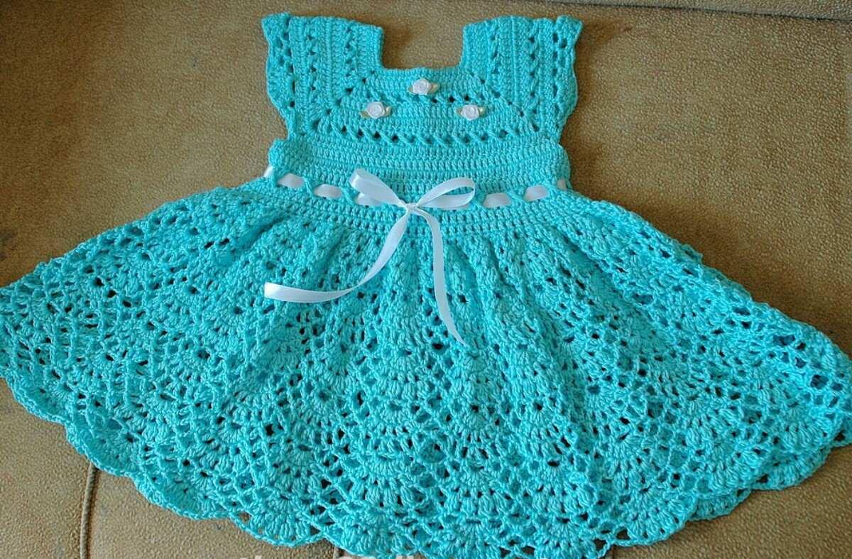 Vestidos A Crochet Para Bebe Mercanolibre