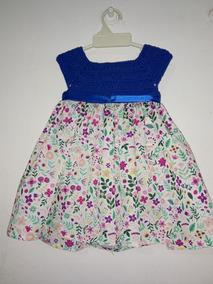 5d0c7c24b Vestido De Niña Crochet Con Tela en Mercado Libre Argentina