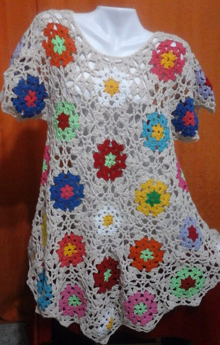 vestidos artesanales tejidos a crochet