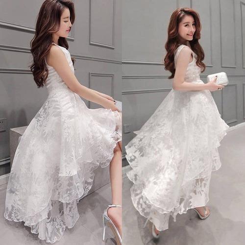 vestidos asimetrico coctel fiestas promocion elegante