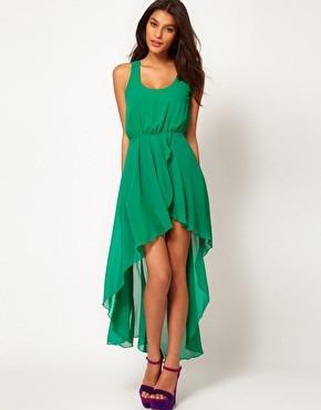 vestidos asimetricos de fiesta casuales modernos y elegantes