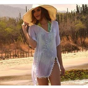 ff934ac849067 Salida De Baño Velo Vestido Playa Piscina Pareo Bikini