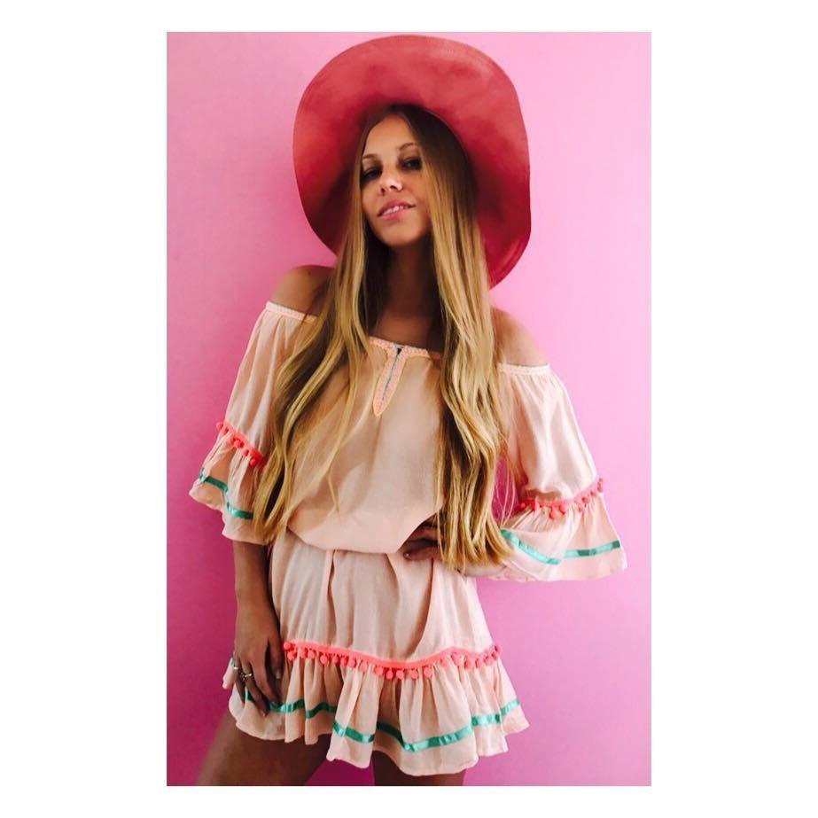 Vestidos Boho Flecos Ideal Para La Playa - $ 799,00 en Mercado Libre