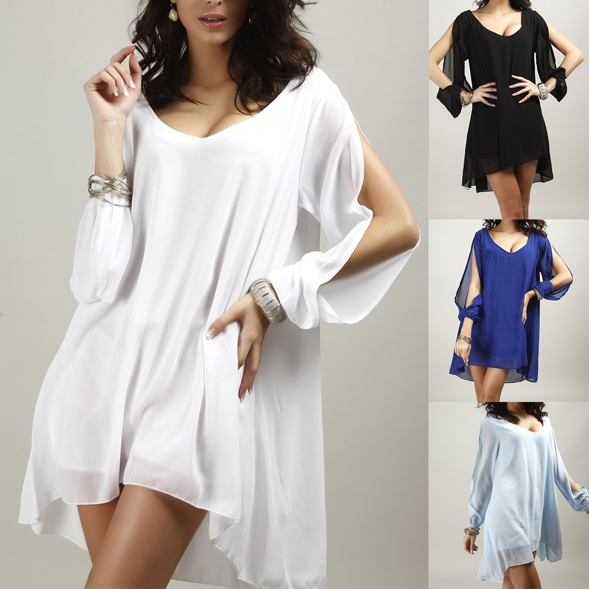 e79248ea265d5 vestidos bonitos económicos elegantes casual barato fiesta. Cargando zoom.