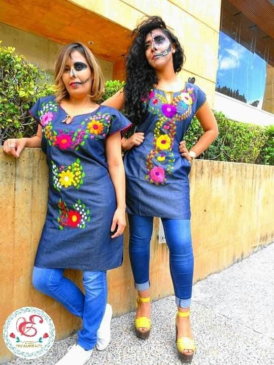 Vestidos Bordados A Mano Por Artesanos Oaxaqueños