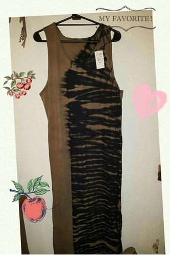 vestidos bordados y estampados