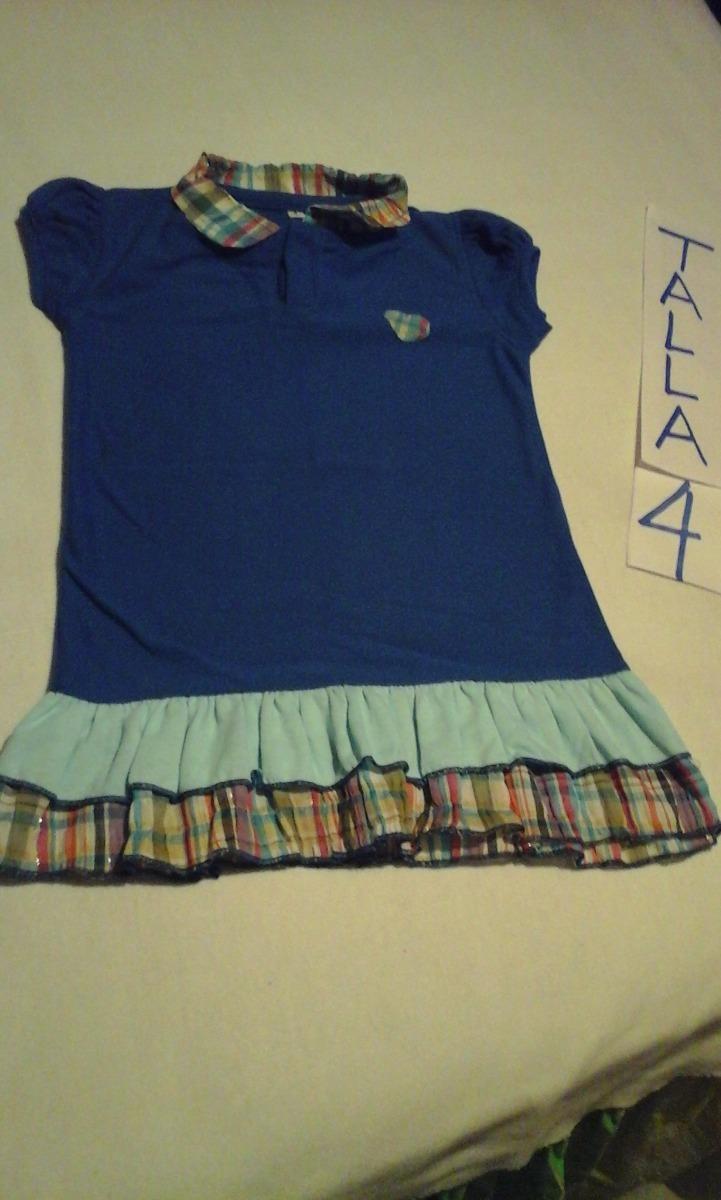 384b06c477 vestidos camiseros para niñas talla 2 y 4. Cargando zoom.