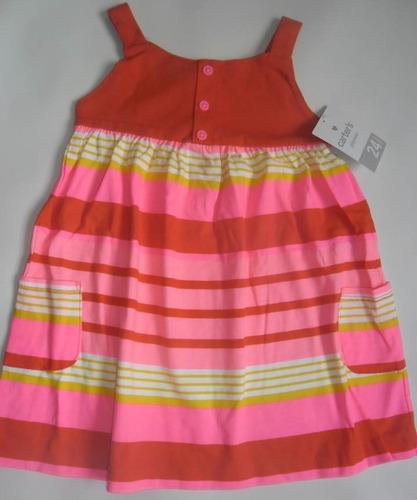 vestidos carters bebes
