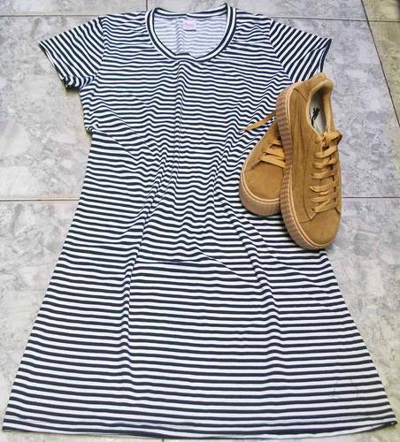 vestidos casuales cortos cuello redondo, a la moda!!