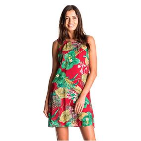 59e7b077cd12 Vestidos Casuales Dama Sin Mangas Estampado Floreado Roxy