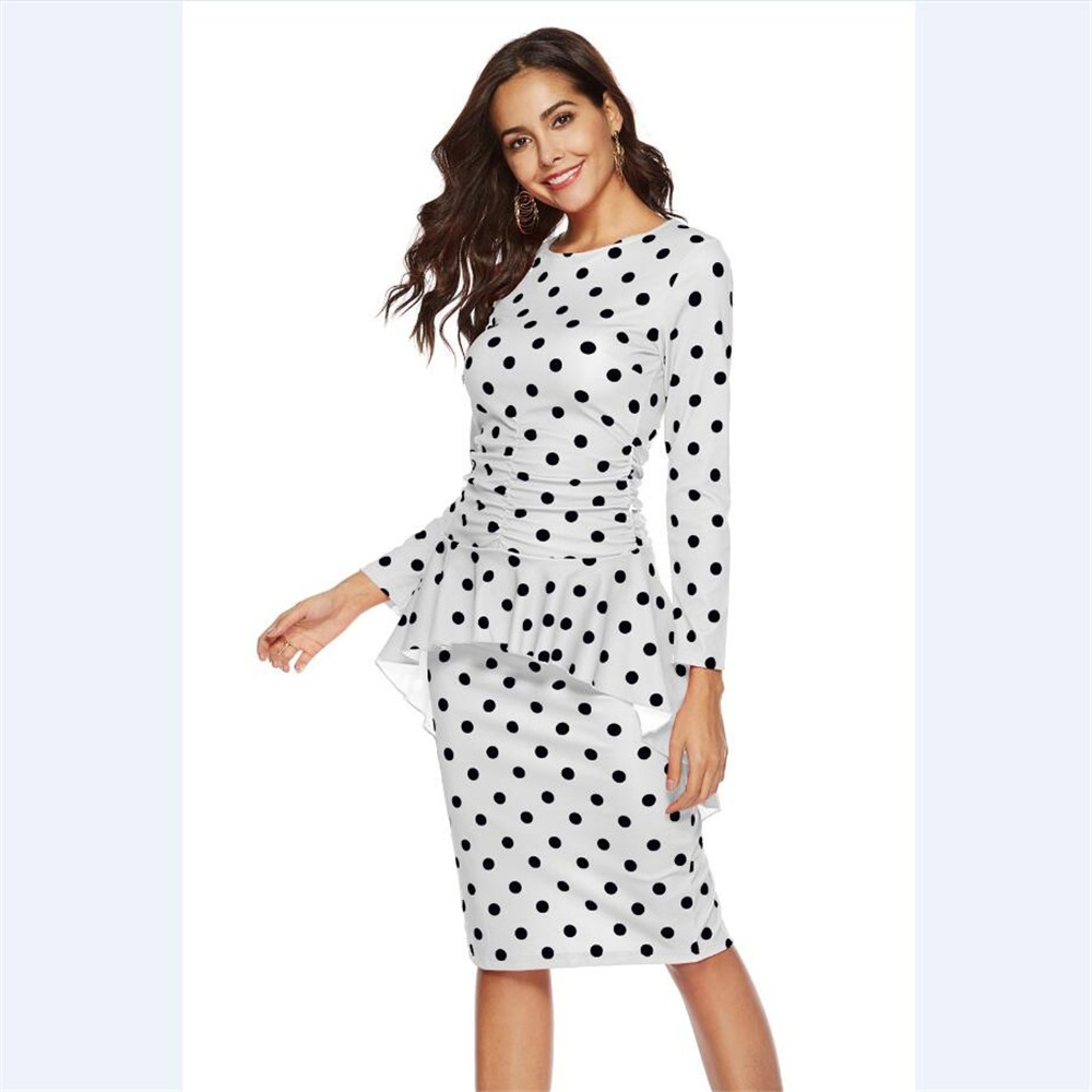 0b26e3f83c vestidos casuales dama vestido elegante negocios oficina mod. Cargando zoom.
