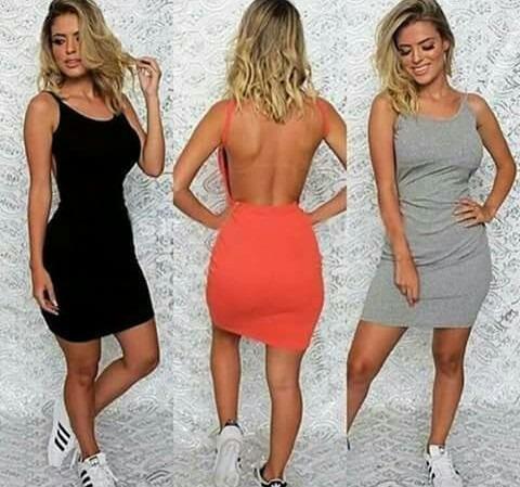 ad31b02e89 Vestidos Casuales De Algodón Para Dama - Bs. 35.450