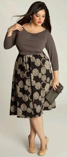 vestidos casuales formales de vestir tallas plus grandes